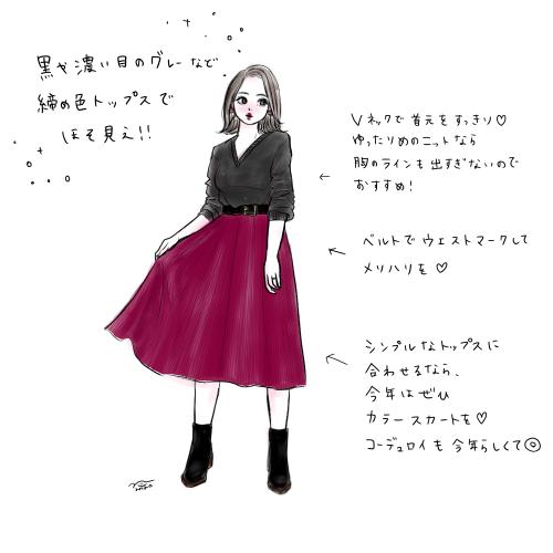 秋冬オススメ!細見えする着痩せコーディネート紹介ついに始めました!